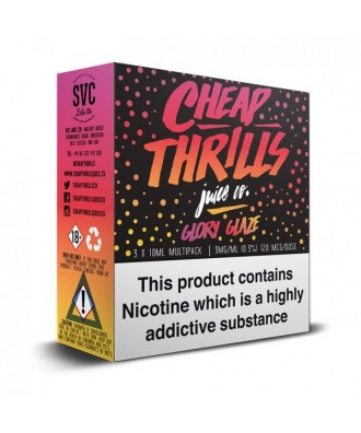 Cheap Thrills- Glory Glaze 3mg (3x10ml)