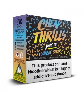 Cheap Thrills- Sunset Strip 3mg (3x10ml)