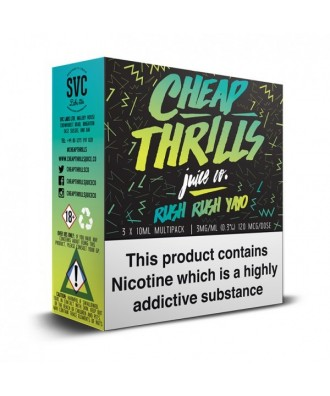 Cheap Thrills- Rush Rush Yayo 3mg (3x10ml)
