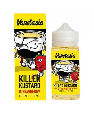 Vapetasia- Strawberry Killer Kustard