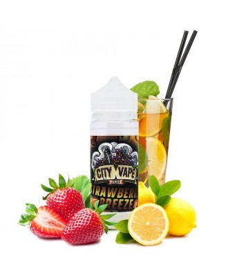 City Vape Cloud Shot- Strawberry Breeze