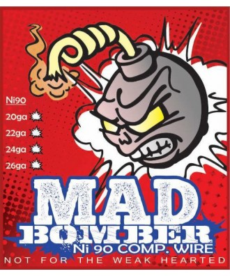 Mad Bomber- Comp Wire Ni90 (26AWG/0.40mm)