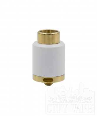 Kennedy 2Post RDA 25mm- Weiss/Brass