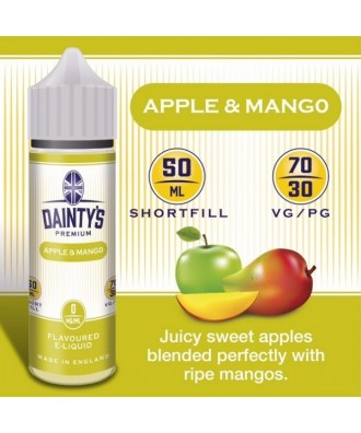 Dainty's- Apple & Mango