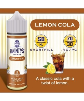 Dainty's- Lemon Cola (50ml)