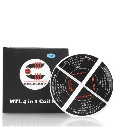 Coilology- MTL 4 in 1 Coil Kit