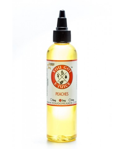You Got Ejuice 120ml- Peaches 0mg
