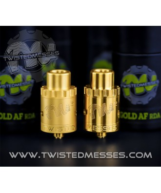 Twisted Messes V2 Gold- Poliert