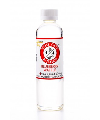 You Got Ejuice 120ml- Blueberry Waffle 0mg