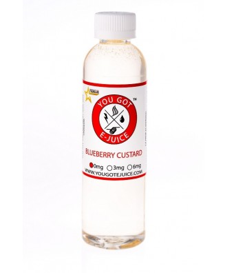 You Got Ejuice 120ml- Blueberry Custard 0mg
